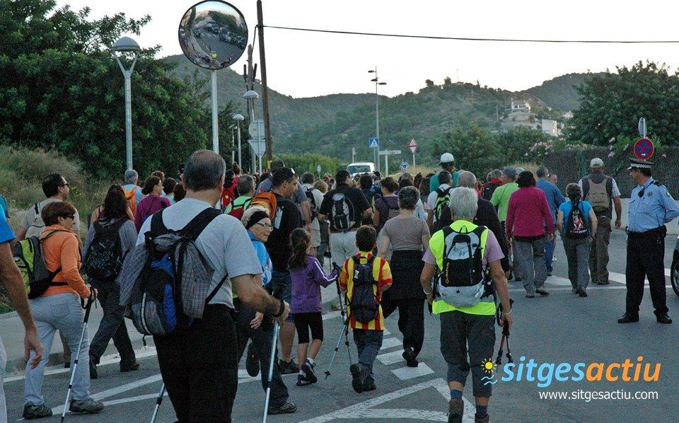 caminata popular sitges