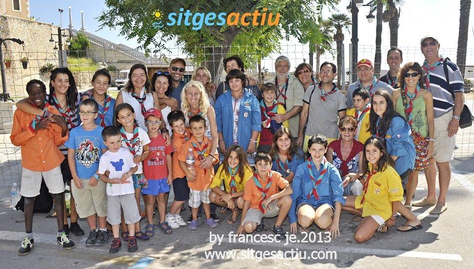 actos de la fiesta de santa tecla sitges 2013