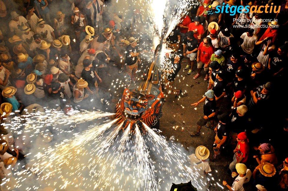 actos de la fiesta de santa tecla sitges