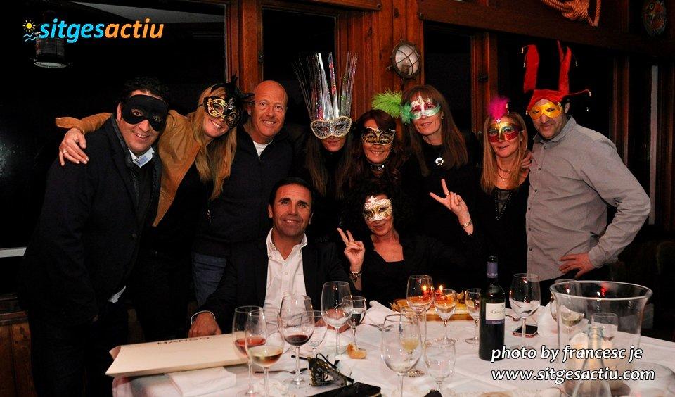 restaurant vivero Carnaval Sitges 2014