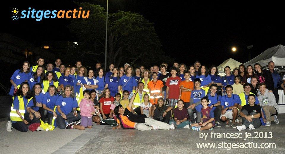 cursa nits de lluna plena sitges 2013