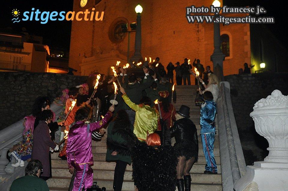 entierro carnestoltes Carnaval sitges 2014
