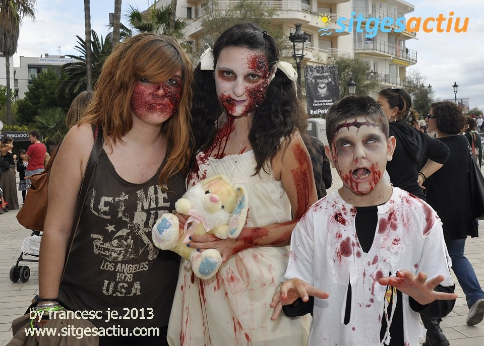 sitges zombie walk 2013