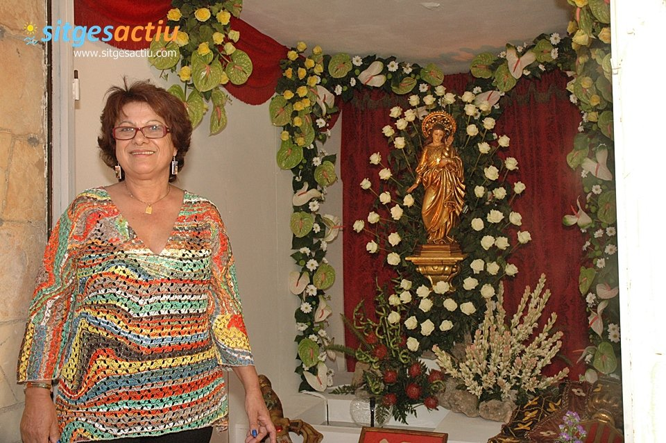 presentacion de la imagen de Santa Tecla Sitges 2013