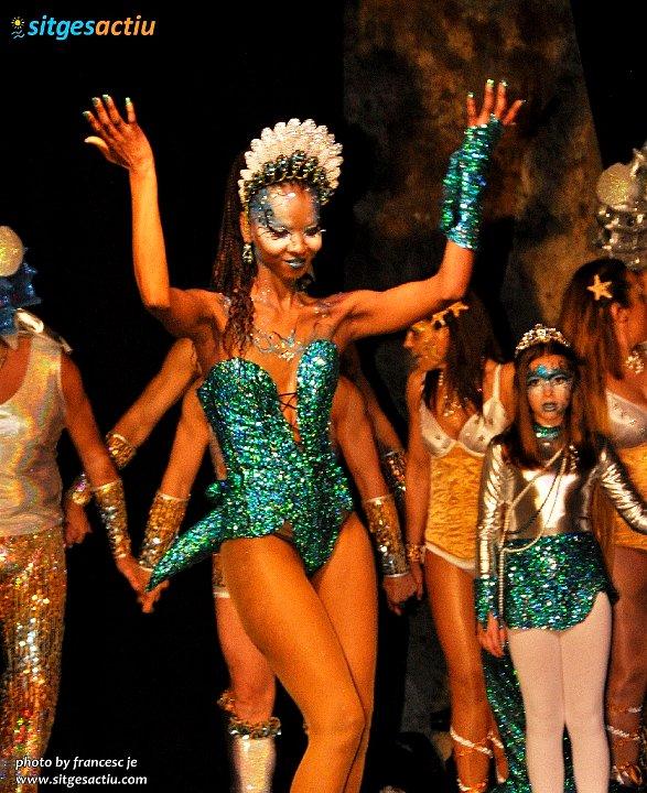 presentacion de las reinas del carnaval Sitges 2014