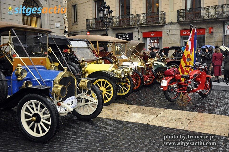 rally internacional de coches de época sitges 2014