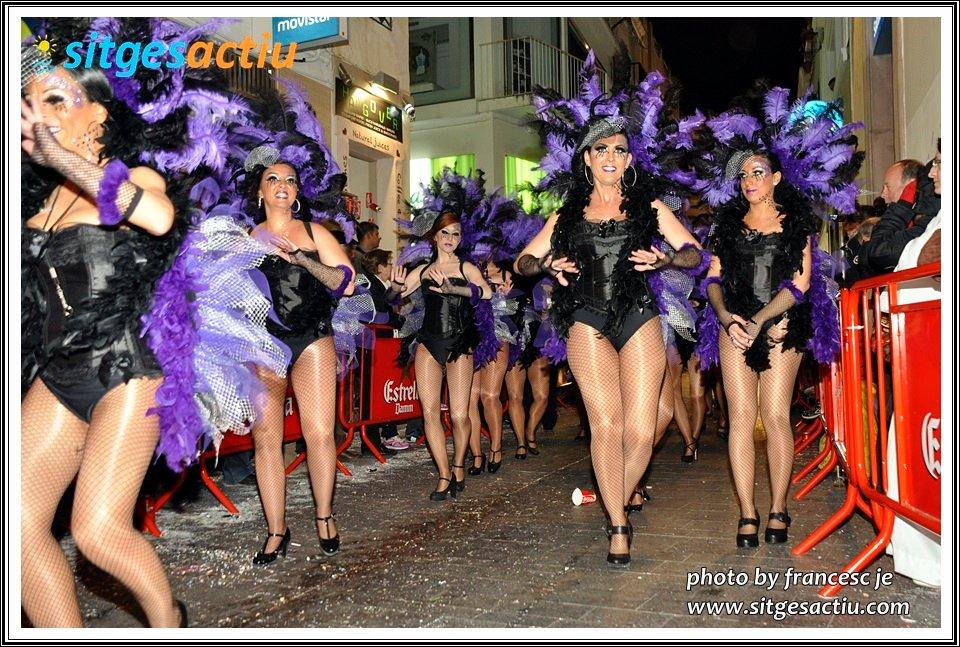 rua extermini carnaval sitges 2014