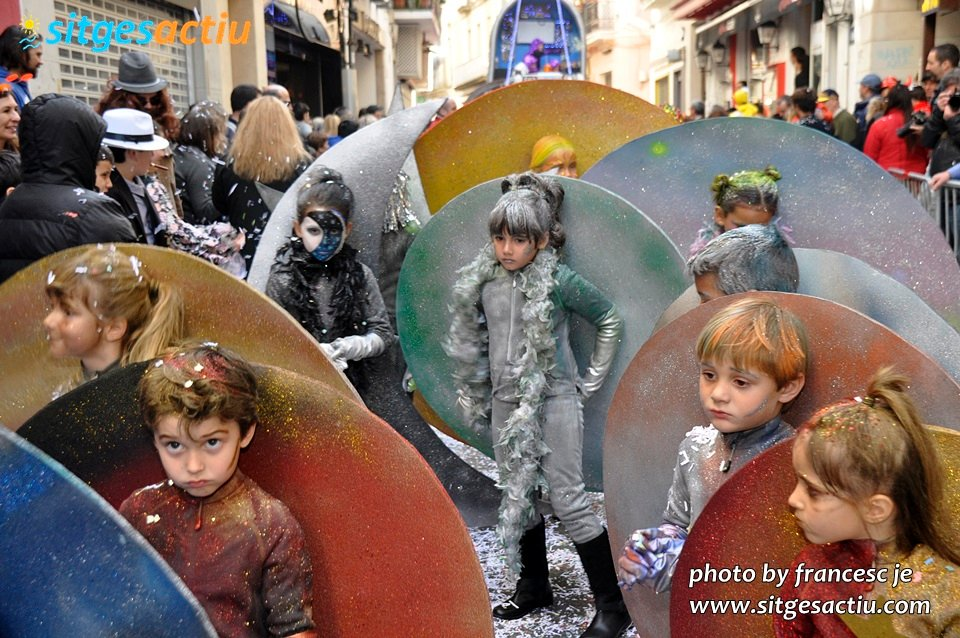 rua infantil disbauxa carnaval sitges 2014