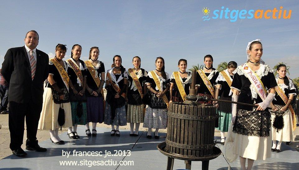 festa verema sitges 2013