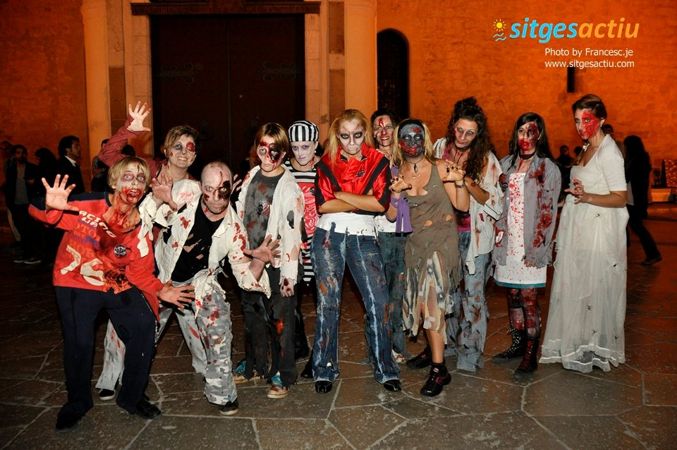 zombie walk sitges 2013