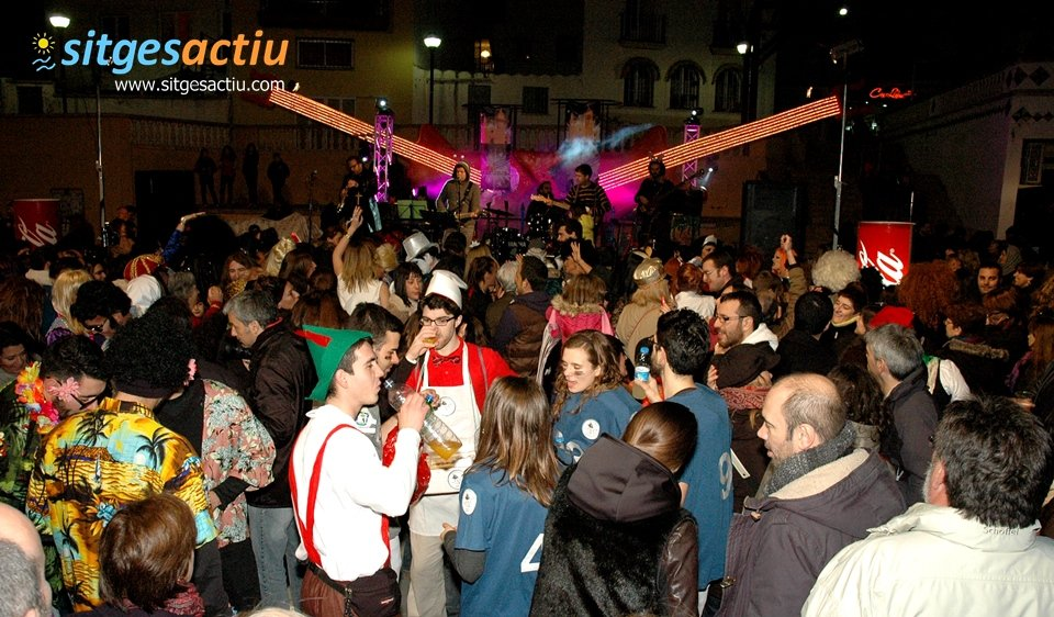concierto mitic music carnaval sitges 2014