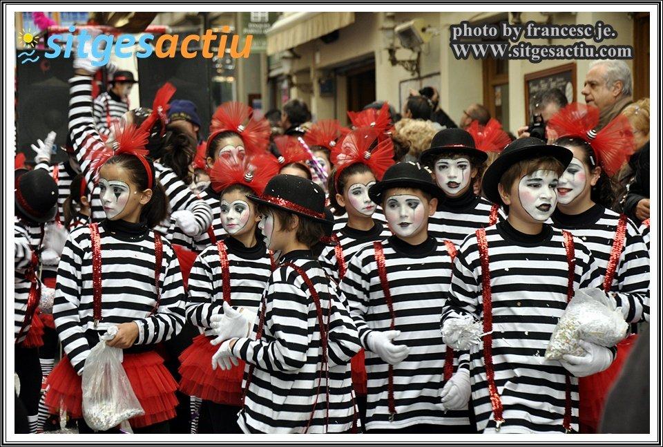 rua infantil extermini carnaval sitges 2014